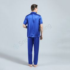 Silk Pajamas TZ-5 for Men   http://www.snowbedding.com/ Silk sleepwears are all made of 100% pure long stranded mulberry silk fabric, featuring a variety of colors and styles, fashionable designs, customization available if required.