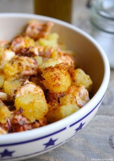 Poulpe à la Galicienne Irish Recipes, Greek Recipes, German Recipes, French Recipes, Healthy Eating Tips, Healthy Nutrition, Vegetable Drinks, French Food, Entrees