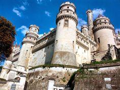 Chi viaggia impara: Immagini dal mondo: Francia: Castelli, regge e fortezze - Castello di Pierrefonds (Piccardia)