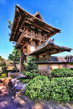 Japanese Gardens, Fort Worth - We had a lot of fun here one afternoon.