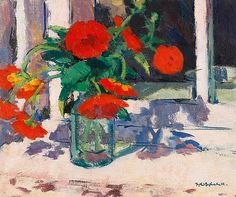 Francis Campbell Boileau Cadell Marigolds Early 20th century