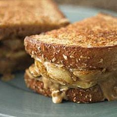 Copycat Grilled Banana Sandwiches from Panera