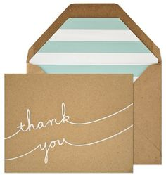 Sugar Paper Casual Thank You Cards  Handwritten appreciation. Manners, a must!