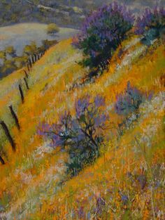 Clark G. Mitchell - Pastels ... this is beautiful. What a wonderful composition.