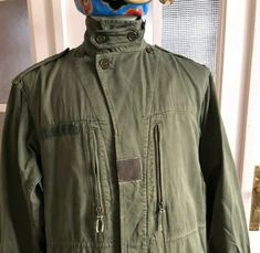 Vintage French Army Jacket Scecam Paris 1969 Chore Combat | Etsy Combat Jacket, Military Jacket, Military Clothing, Olive Jacket, French Army, Drawstring Waist, French Vintage, Vintage Outfits, Windbreaker
