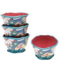 Tracy Porter Scotch Moss Set of 4 Ice Cream Bowls