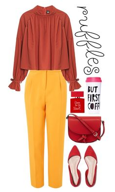 """""""Untitled #55"""" by enamorado-dina ❤ liked on Polyvore featuring Topshop, KC Jagger, ban.do and Conran"""