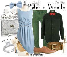 Disneybound Peter and Wendy