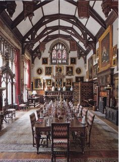 The Art of the Room - In Search of the Sublime in Design: Madresfield Court: the medieval dining hall