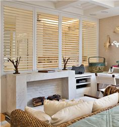 Did you know shutters are the only window treatment option that actually increases the value of your home?