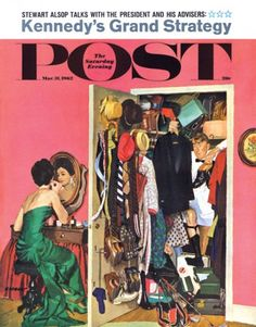 50 years ago, on March this Dick Sargent illustration ran on the cover of The Saturday Evening post. What beautiful art, capturing the Old Magazines, Vintage Magazines, Journal Vintage, Sargent Art, Saturday Evening Post, Art For Sale Online, Norman Rockwell, American Artists, Cool Artwork
