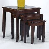 Found it at Wayfair - 3 Piece Nesting Tables
