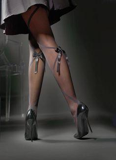 ribbon tights