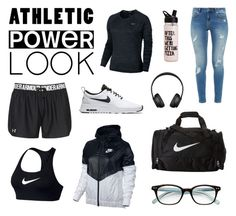 """""""after work you find me in the gym"""" by scipp ❤ liked on Polyvore featuring NIKE, Under Armour, Ted Baker, ban.do, Kate Spade and powerlook"""