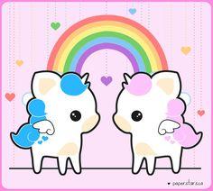 Las etiquetas más populares para esta imagen incluyen: unicorn, rainbow, kawaii, pink y baby