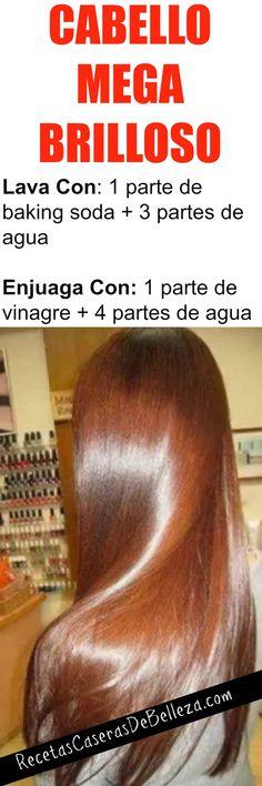LAVADO CAPILAR CON VINEGRA Y BAKING SODA