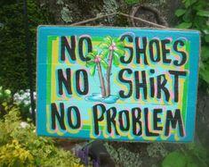TEKE HUT MURAL | Tropical Tiki Bar Hut Beach Pool Pa tio Margarita No Shoes No Shirt No ...