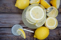 Limonade selber machen - Grundrezepte