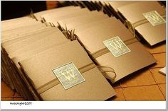 Stationery, brown, gold, Invitations, Monagram, Mrswright2005