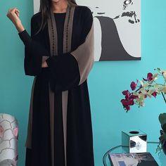 IG: 1001abayas    Modern Abaya Fashion    IG: Beautiifulinblack