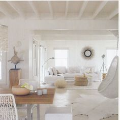 ♥ love the neutrals & white. Also from Weylandts 2009 catalogue. Home Living Room, Living Spaces, Livng Room, African Interior Design, Old Stone Houses, Beautiful Interiors, White Interiors, Interior Inspiration, Interior Architecture