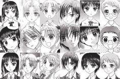 Gakuen Alice characters through the years...