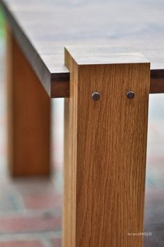 Black Walnut Monolith Style Occasional / Coffee Table: