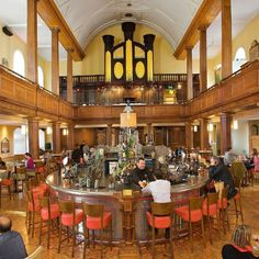 Beautiful Churches That Have Been Converted into Secular Buildings: The Church Bar & Restaurant, Dublin, Ireland