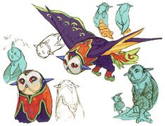 Breath of Fire IV Concept Art