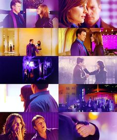 Richard Castle + Kate Beckett