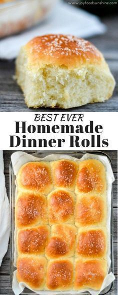 These Homemade Dinner Rolls turn out perfect every time. Dense yet fluffy, slightly sweet and salty, and irresistibly buttery! The only homemade roll recipe you will ever need!
