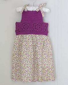 Mon Petit Four - Crochet Dress Pattern