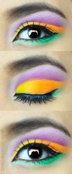 Mardi Gras @lauren duncan these are your eyes for the weekend..