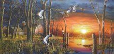 Jim Hansel. EEUU. Pintor de naturaleza y fauna.