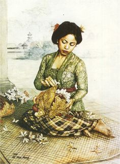 Hoo Kim Hong - Merangkai Bunga