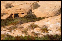 Cave house near Águilas.