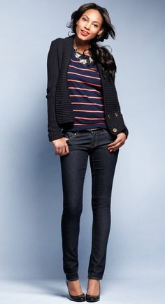 adorable look from ann taylor