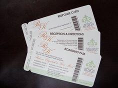 Printable Wedding Invitations or SavetheDates by lemonseedandco