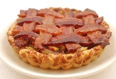 Maple Bourbon Apple Pie with a Bacon Pecan Crust Recipe Oh my. Everything is better with bacon.