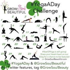 november instagram yoga challenge grow soul beautiful