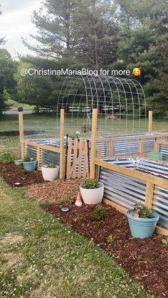 Front Yard Garden Design, Backyard Garden Design, Front Yard Landscaping, Lawn And Garden, Landscaping Ideas, Garden Art, Farm Gardens, Outdoor Gardens, Rustic Gardens