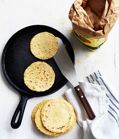 Tortillas The keys to tortilla perfection are getting the consistency of your dough right, then letting it sit, cooking it right and, crucially, letting the tortillas steam, wrapped in a towel, in their own heat at the table. #Tortilla
