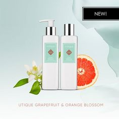 UTIQUE Luxury Body Balm and UTIQUE Luxury Shower Gel Grapefruit & Orange Blossom #bodybalm #showergel #newproducts #new #utique #fmworld #fmworldofficial #luxury #luxuriousproducts #amber #wow #mlm #success #networking