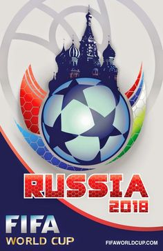 FIFA 2018 World Cup Poster. Russia