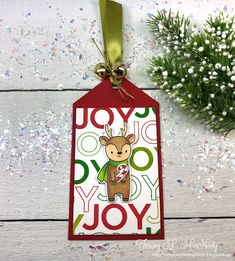 In My Creative Opinion: The 25 Days of Christmas Tags 2019 - Bonus Day 26 25 Days Of Christmas, Christmas Gift Box, Very Merry Christmas, Christmas Cards, Christmas Ornaments, Happy New Years Eve, Hand Stamped Cards, Make Blog, Tag Design