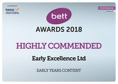 Pleased & proud to say that #EExAT has received a 'Highly Commended' Award at the #Bett Awards 2018. Join a free #EExAT preview at earlyexcellence.com/eexat Awards, Join, Journey, Events, Sayings, Free, Bed, Happenings, The Journey