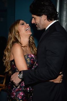 Sofia Vergara & Joe Manganiello   OH i love these two... Seriously cutest couple. besides jenna and Channing. ♥ Marry your best friend and your soul is free