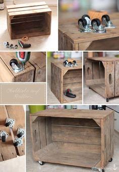 kiste selber bauen vorn diy heimwerken pinterest kiste selber bauen und holzkiste. Black Bedroom Furniture Sets. Home Design Ideas