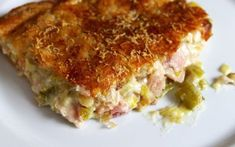 Hearty Chicken and Leek Pie. A recipe from Nigel Slater. Easy Pie Recipes, Chef Recipes, Greek Recipes, Chicken Recipes, Cooking Recipes, Recipies, What's Cooking, Cooking Time, Dinner Recipes