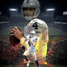 Oakland Raiders Los Angeles Raiders Silver and Black Derek Carr